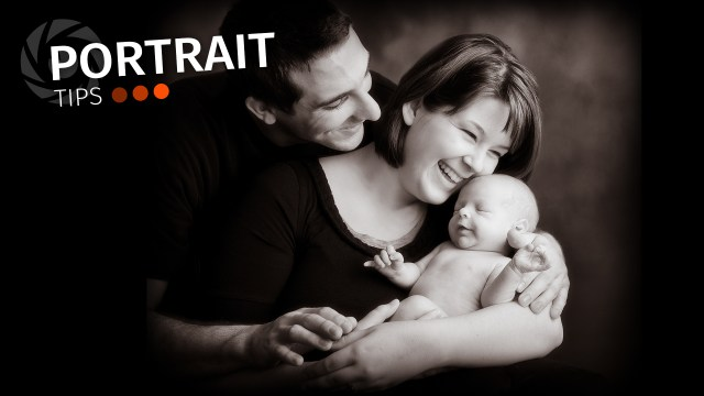 Portrait Tips: A note for newborns