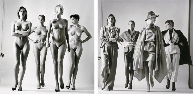 "From ""Big Nudes"" and ""Sumo"" by Helmut Newton"