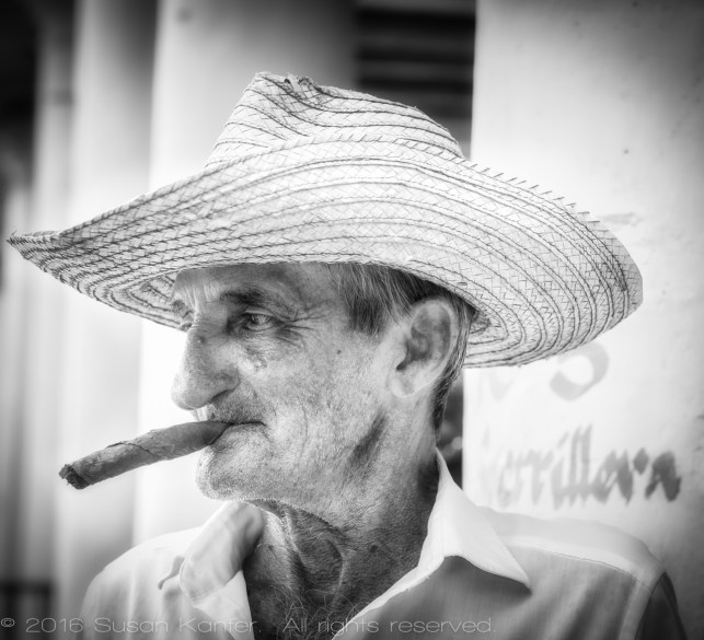 Man in Vinales, Cuba