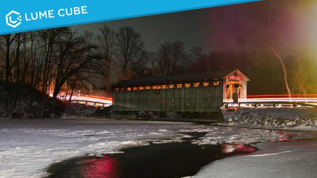 Creating one-of-a-kind landscapes with Lume Cubes