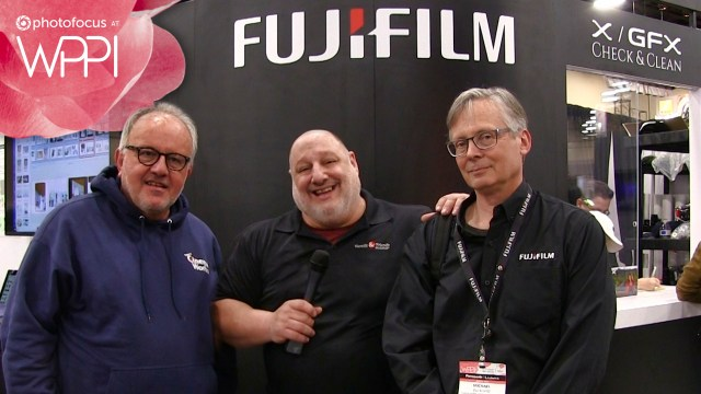 2019 WPPI trade show interview: Fujifilm
