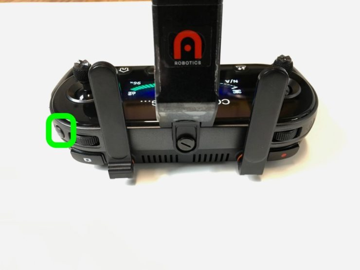 Autel Evo Remote Disp button