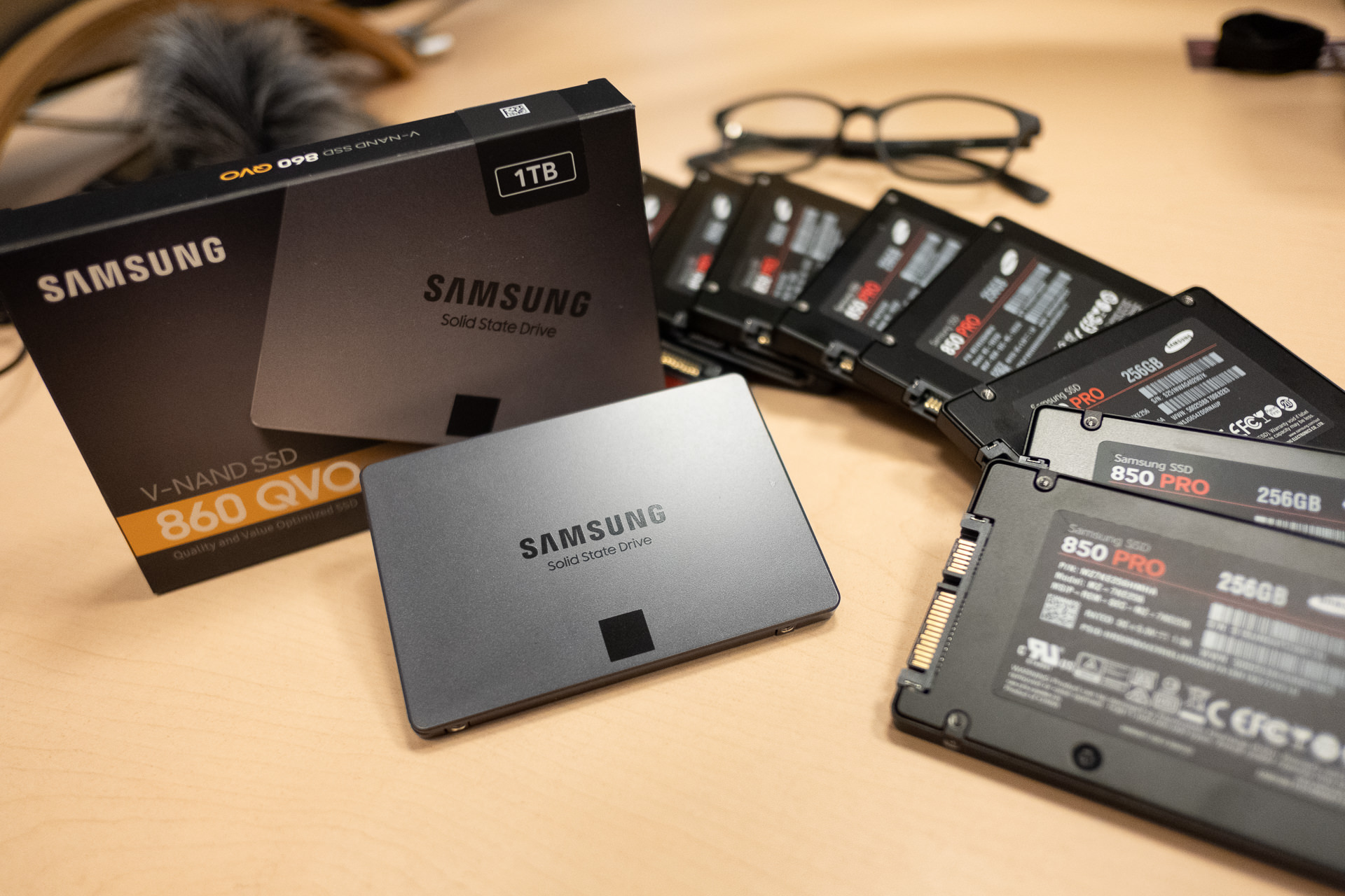 Getting Samsung's 860 QVO solid state hard drive is a no