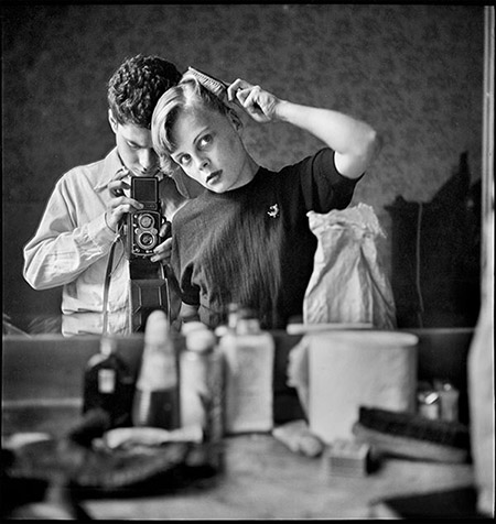 """Self Portrait"", Paris, France, 1952"
