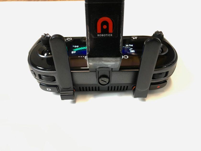 Autel Evo - back of remote controller