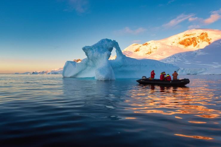 Antarctica Zodiac Charlotte's Bay