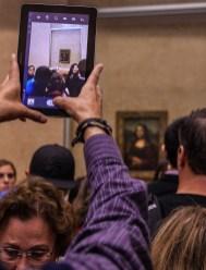 With the Mona Lisa