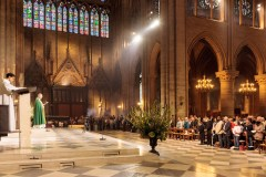 Catholic mass in Notre Dame