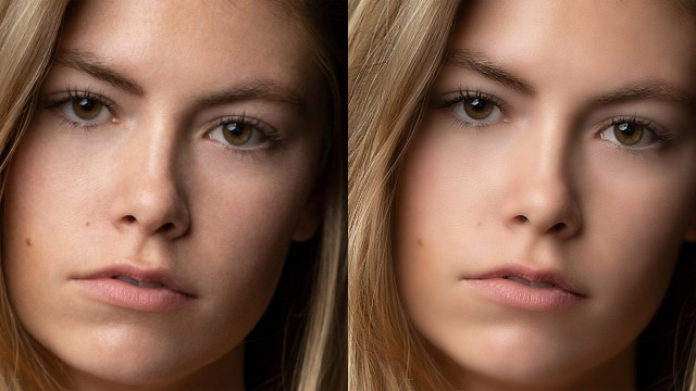 Beware the blur: Keeping portraits looking real
