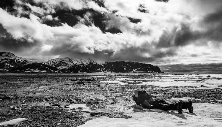 photographer in Svalbard