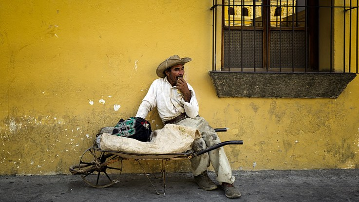 "Photofocus Photographer of the Day — Pat Callahan and his portrait ""Antigua Guatemala."""