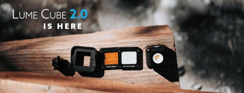 Lume Cube 2.0 product shot