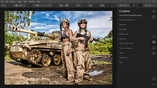 Luminar gets a new, clutter-free, sleek UI