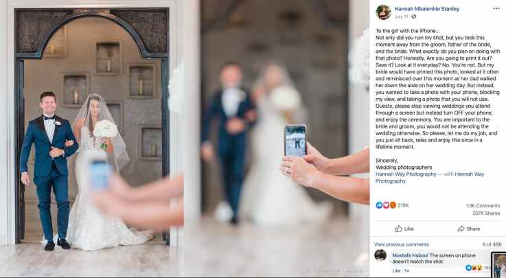 Wedding photography fail, or how to be a professional