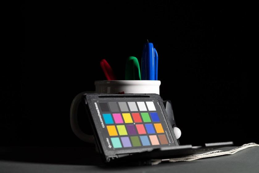The X-Rite ColorChecker Passport Photo 2 on set for the color cast shoot.