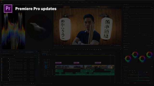 Adobe brings workflow refinements to Premiere Pro and After Effects