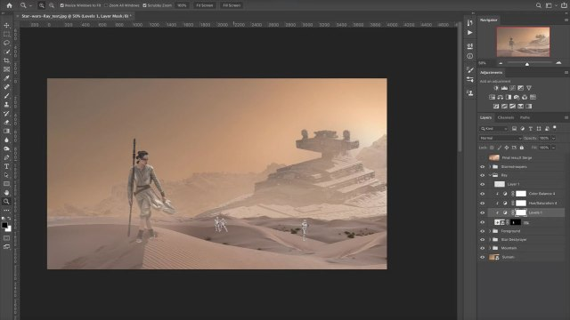 "Experience the force with ""Star Wars"" fan art creation"