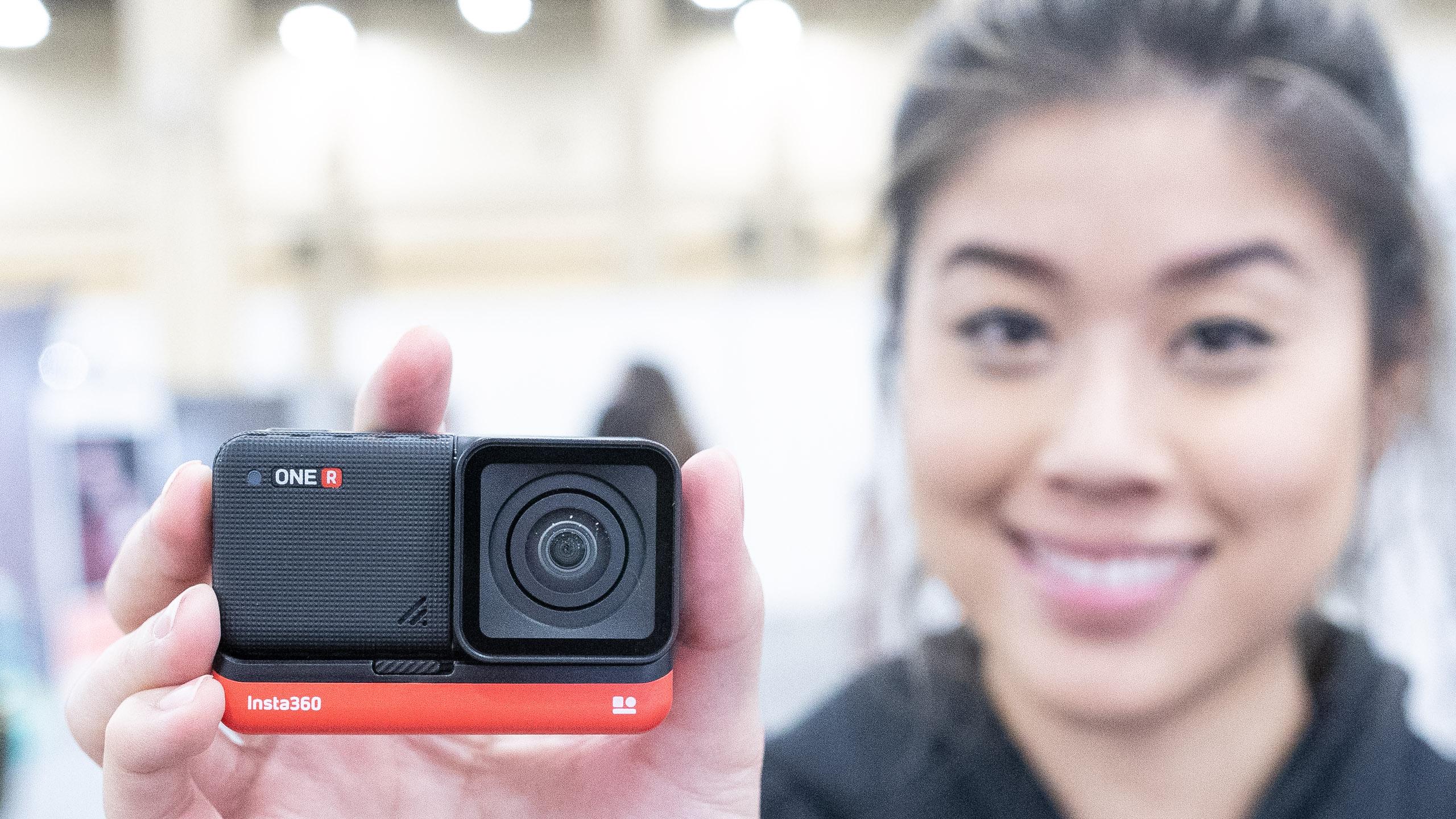 OneR modular action camera from Insta360