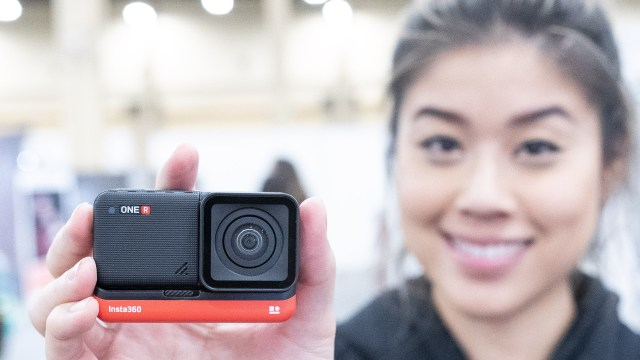 Talking the OneR modular action camera with Insta360