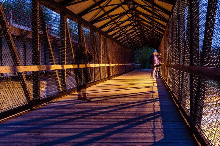 long exposure bridge photographers