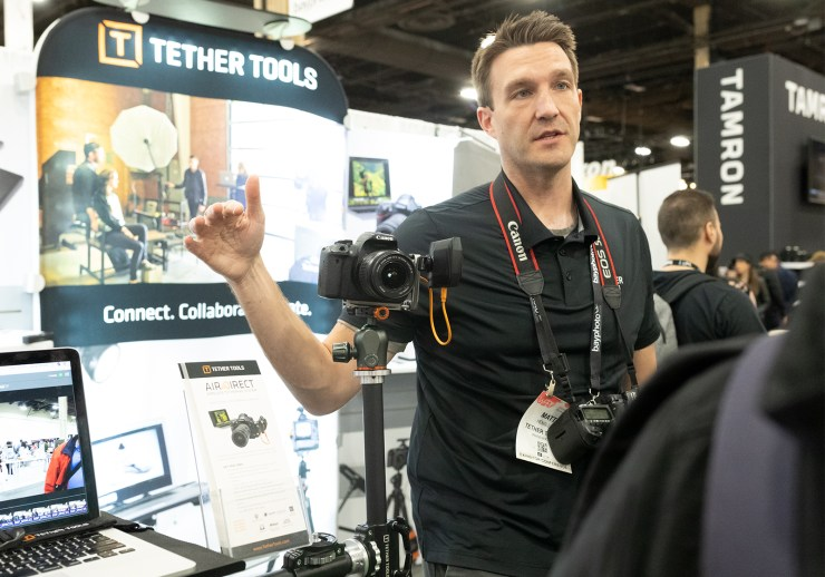 Air Direct Tether Tools at WPPI