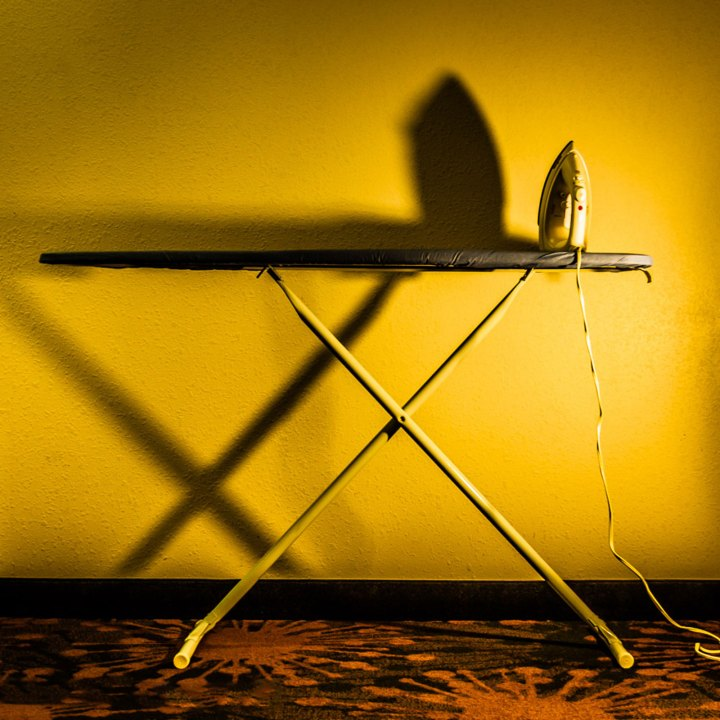 ironing board shadow