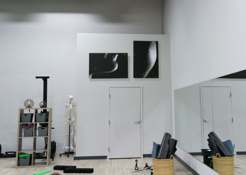 Huge prints photo gym