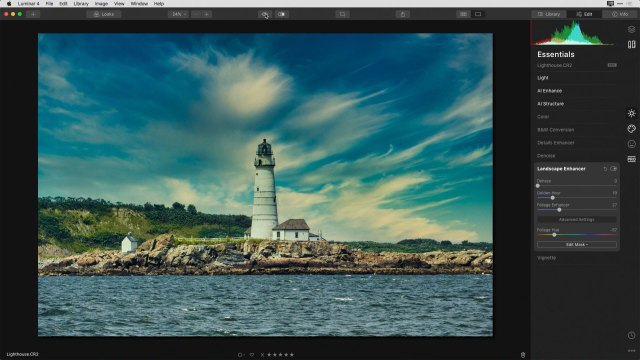 Save big and create beautiful landscapes with Luminar 4