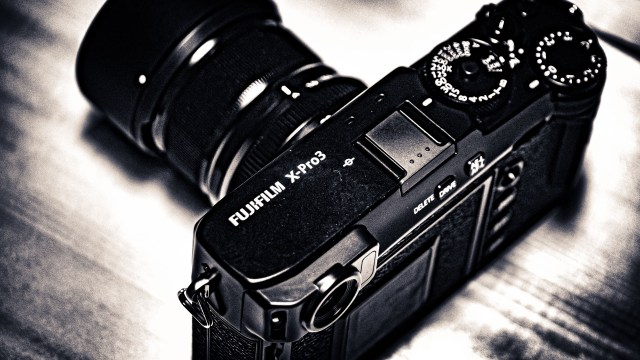 A too-short look at the new Fuji X-Pro3