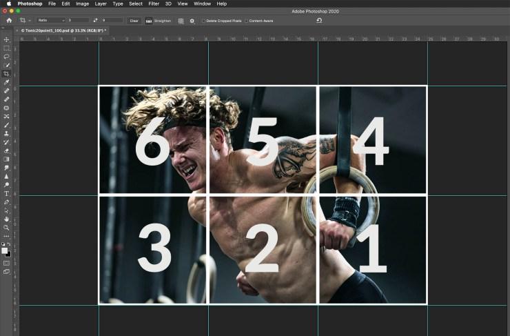 Instagram grid layout