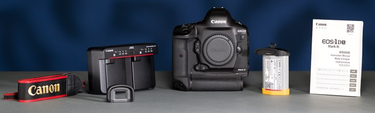 Canon 1DX Mark III unboxing