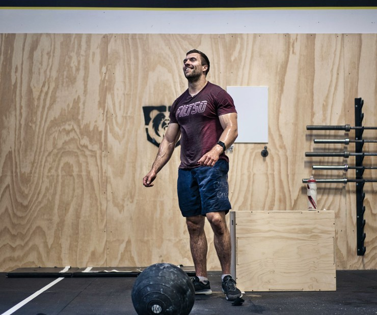 Alex Caron Rogue Invitational CrossFit