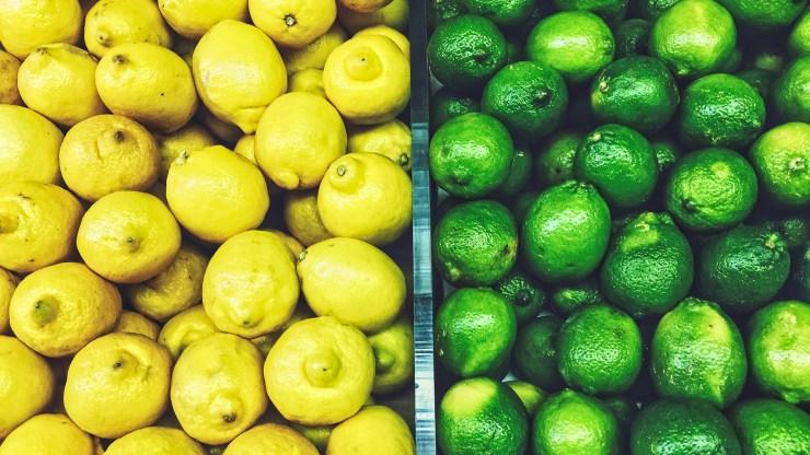 Lemon or lime recipe