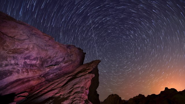 Photographing the Perseid meteor shower