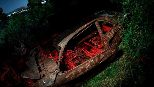 How I got the photo: Spooky Spahn Ranch Zodiac Car