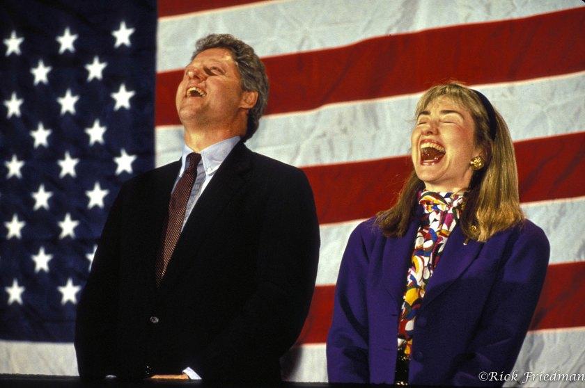 Rick Friedman The Clintons