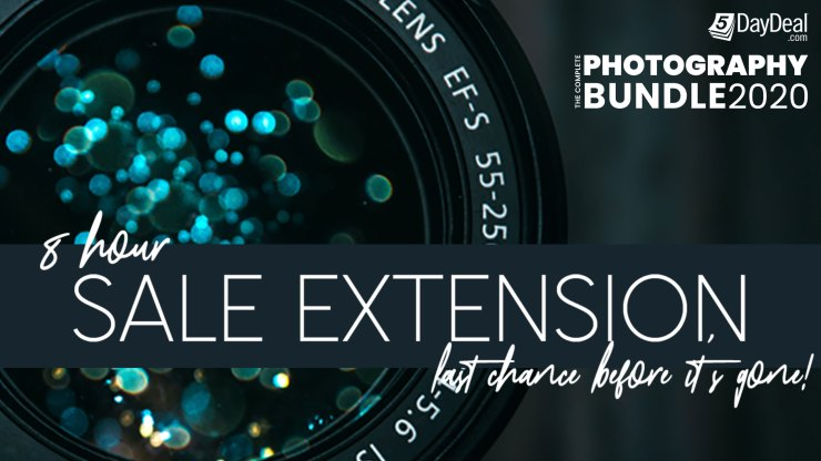 5DayDeal extended: 49  professional photographers and brands, 26 products for just $89