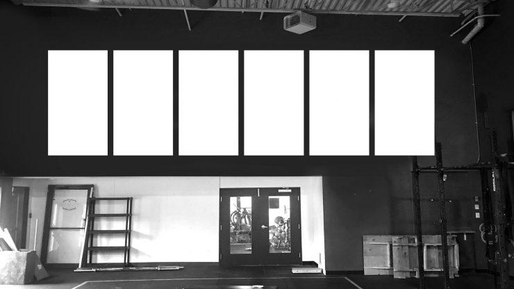 Multi-panel print gym