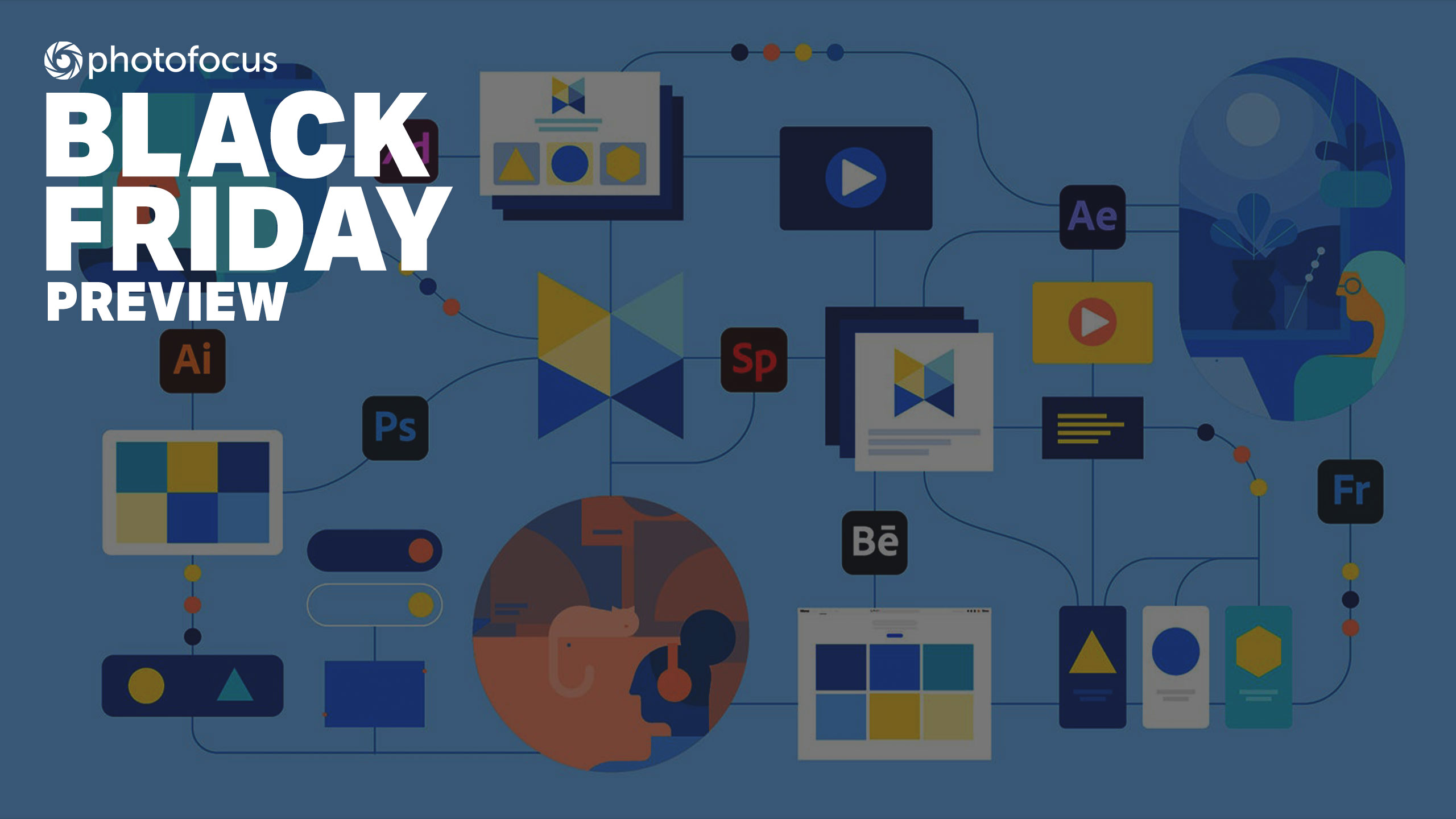 Save up to 25% off Adobe Creative Cloud with early Black Friday savings