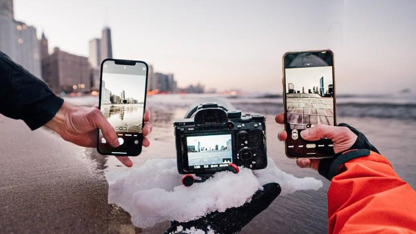 SHOCKING iPhone 12 Pro VS. $4500 PRO Camera - youtube