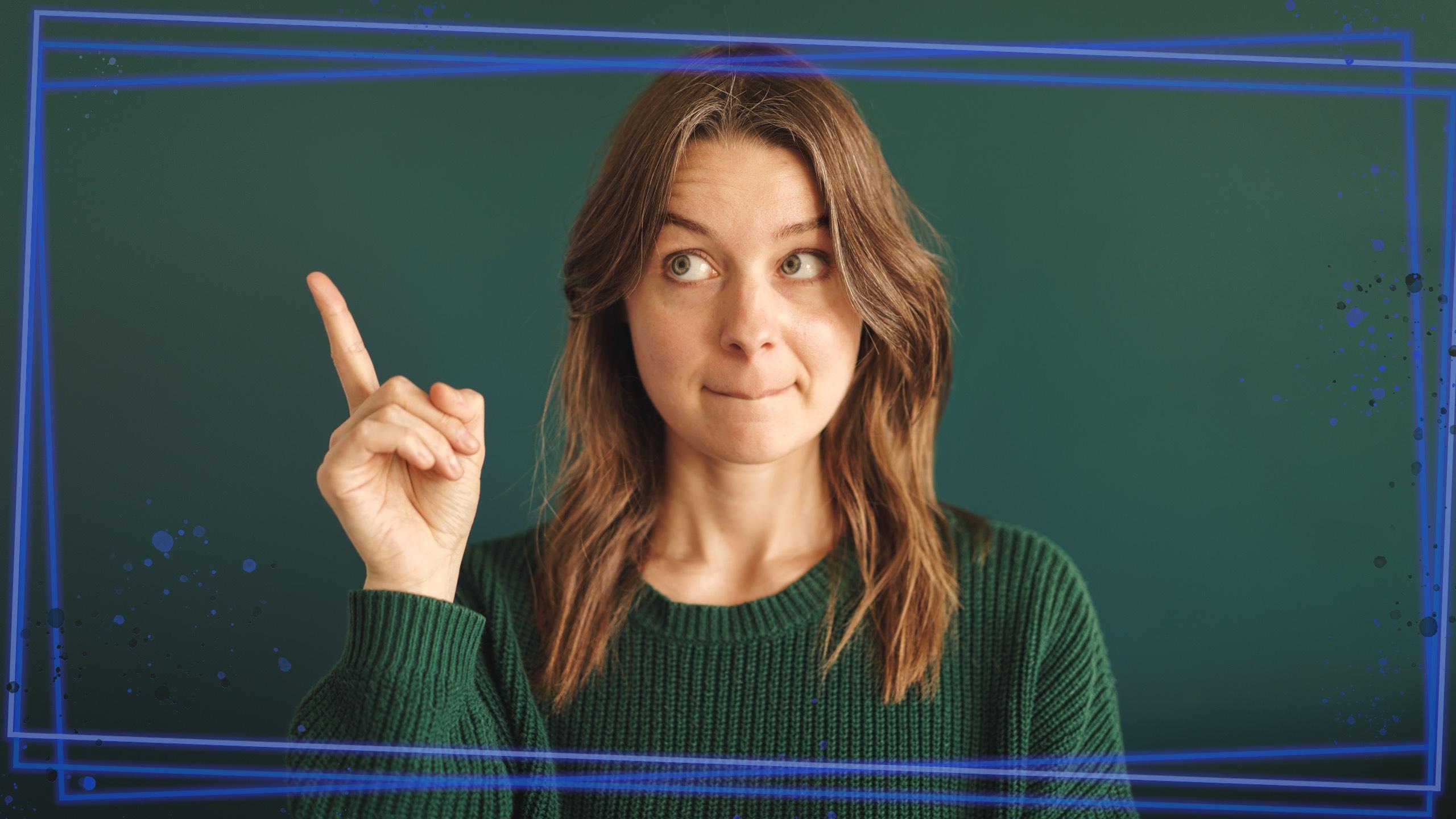 Frame Layer female portrait
