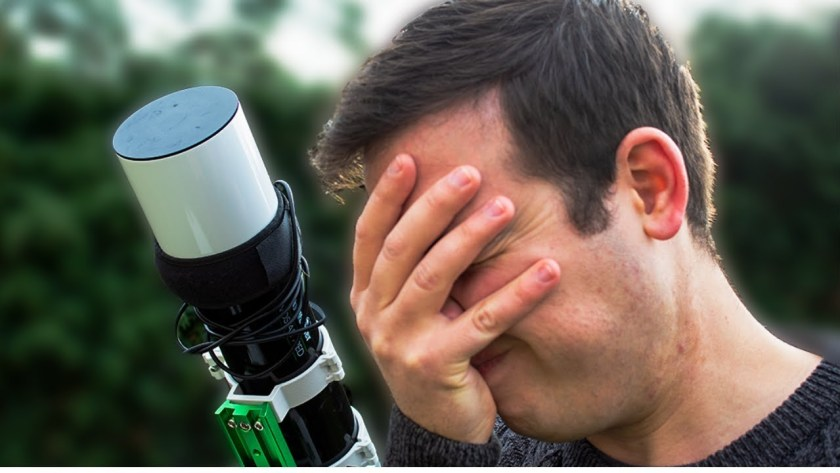 Astrophotography mistakes beginners usually make