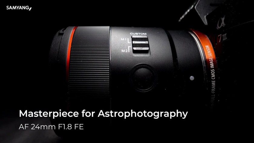 Samyang announces astrophotography-centric 24mm f/1.8 FE for Sony