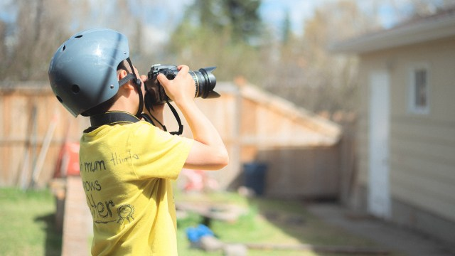 Five ways to get your kids involved in photography this summer