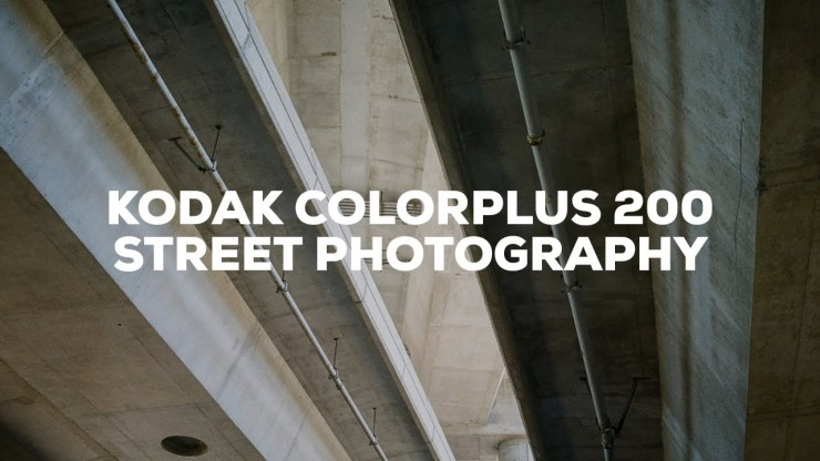 Street Photography with Kodak ColorPlus 200! ft. the Nikon F4 - youtube