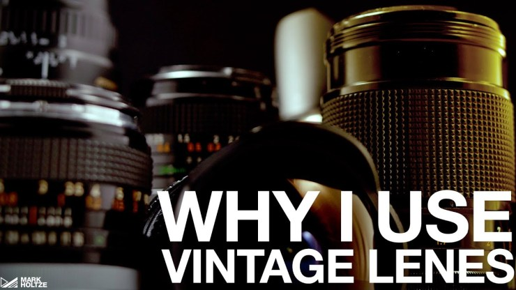 Why Use Vintage Lenses - youtube