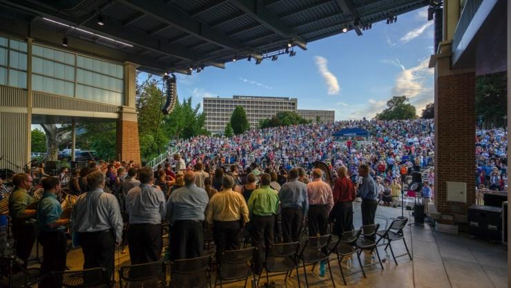 Symphony Under the Stars, Roanoke Symphony Orchestra, Elmwood Park, Roanoke VA