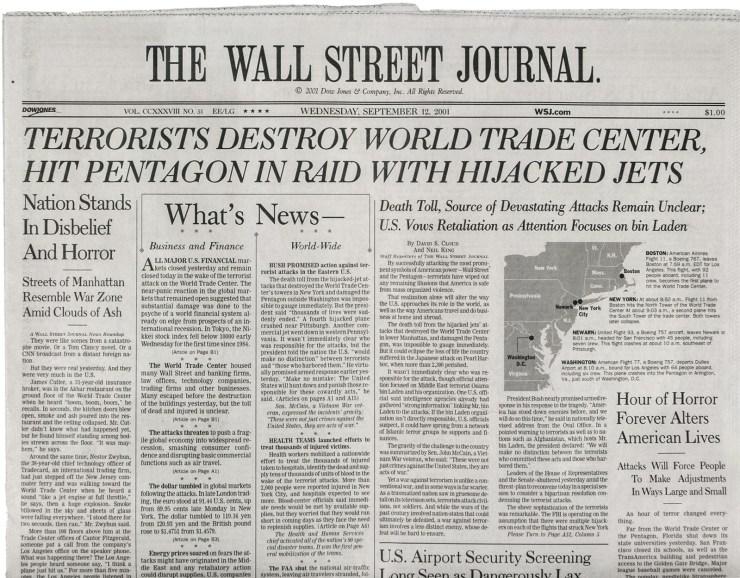 9/11 Twenty years on...