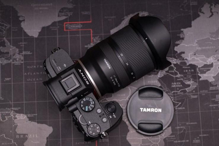 ultra-wide-angle (Tamron 17-28mm f/2.8 Di III RXD)