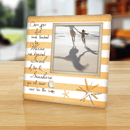 Nautical Photo Frames  Personalized Beach and Coastal